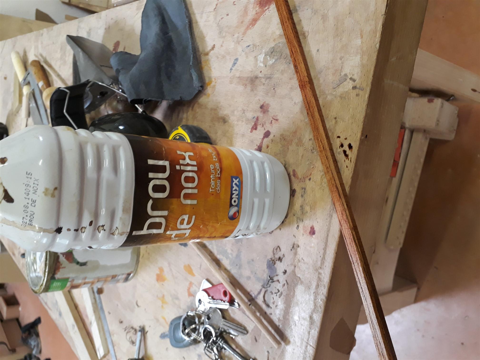 restauration d'un meuble d'entrée de style breton | au fil du rabot